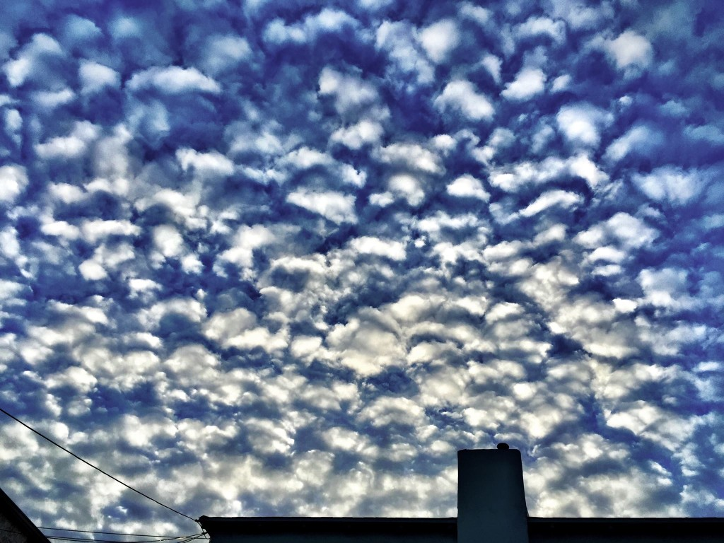 Mackerel Sky - photography by Kerry O'Brien