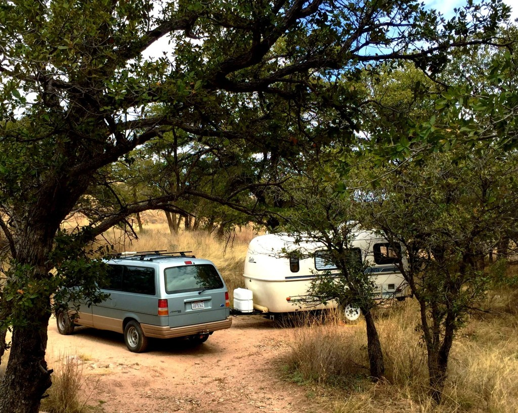 camping, Casita, oak forest