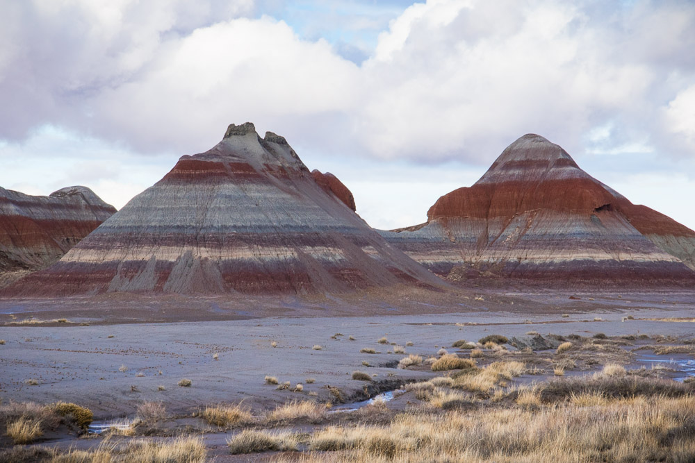 Painted Desert Landscape - Three Sisters
