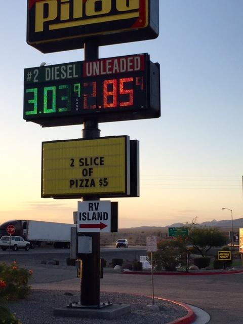 Cheap gas - Photo by Kerry O'Brien